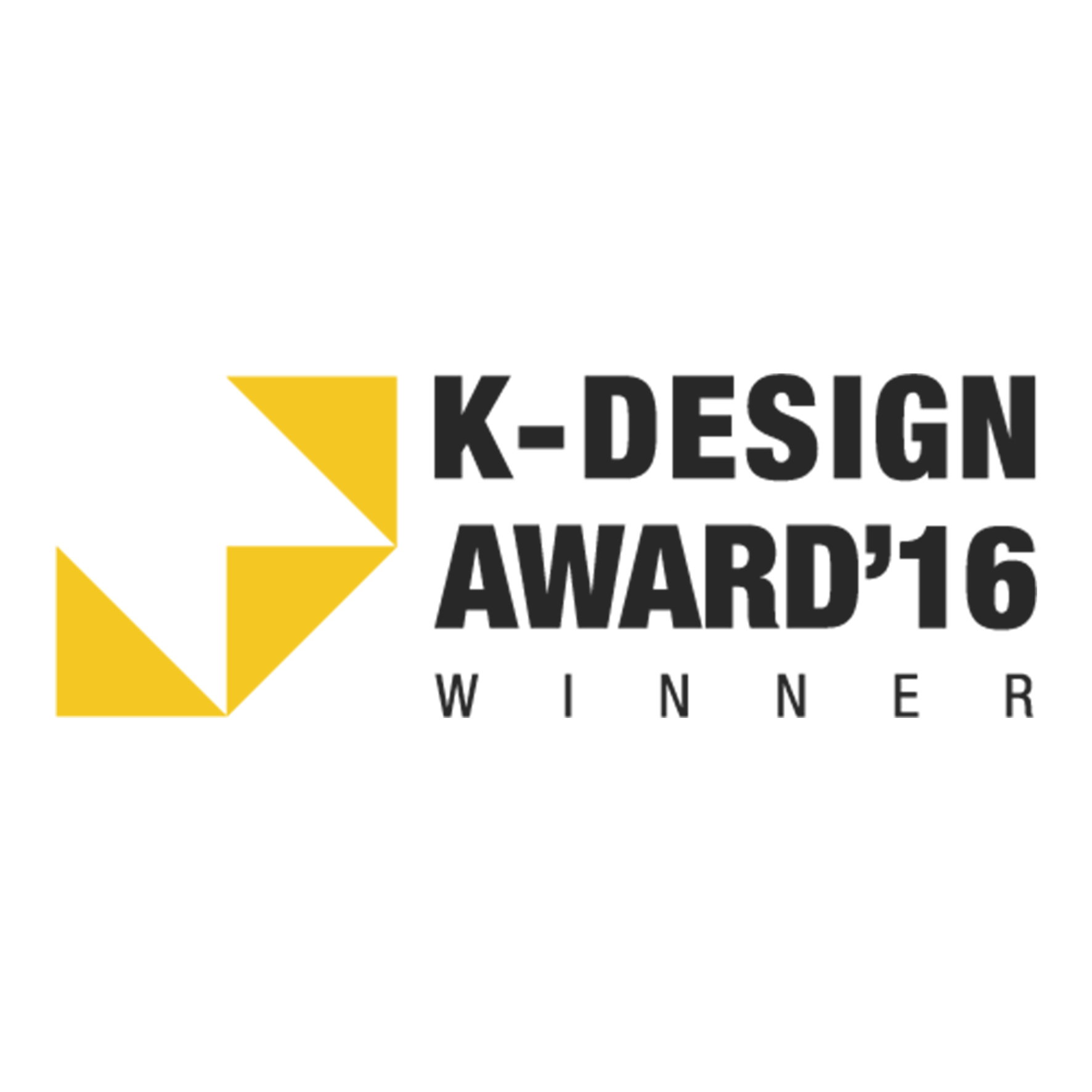 Award Winner, K-Design Award 2016(优胜者 – 2016年K设计大奖)