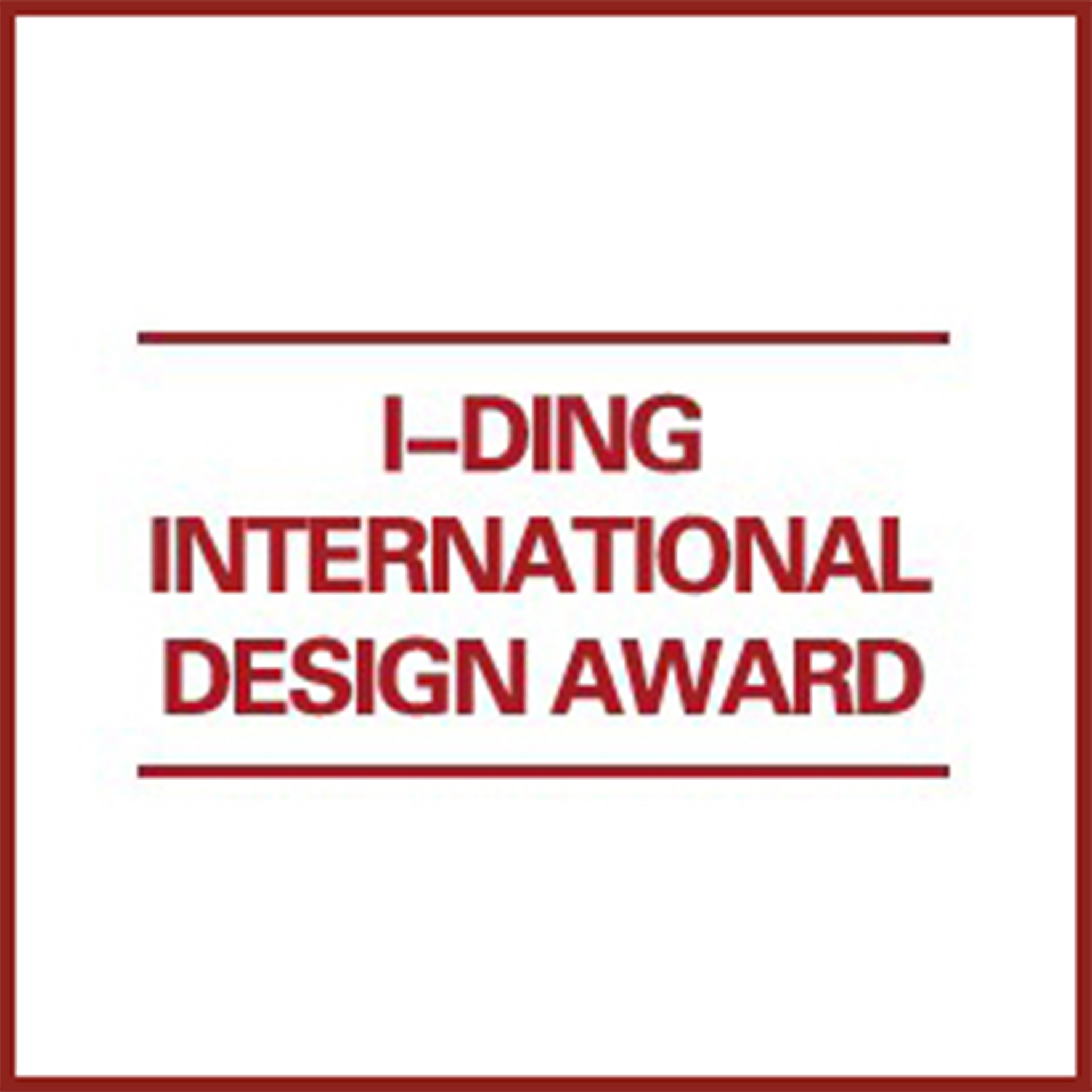 Honorable Mention, Residential Space Award - 2017 I-Ding International Design Award